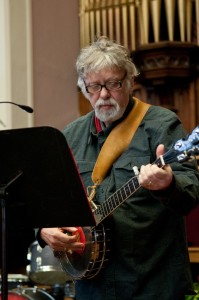 Ian Macdonald performing with CCC in Victoria in 2011